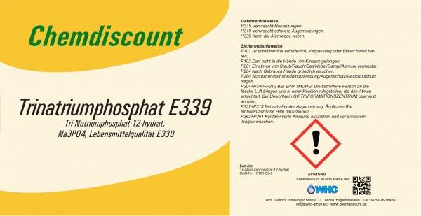 25kg Natriumphosphat (Trinatriumphosphat) Lebensmittelqualität E339