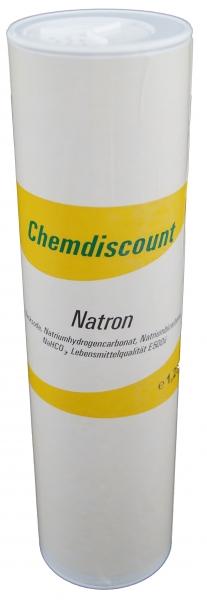 1,25kg Natron in praktischer Streudose, umweltfreundlich, nachfüllbar, Lebensmittelqualität, (Backso