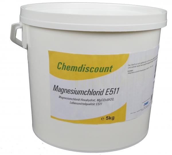 5kg Magnesiumchlorid Lebensmittelqualität E511