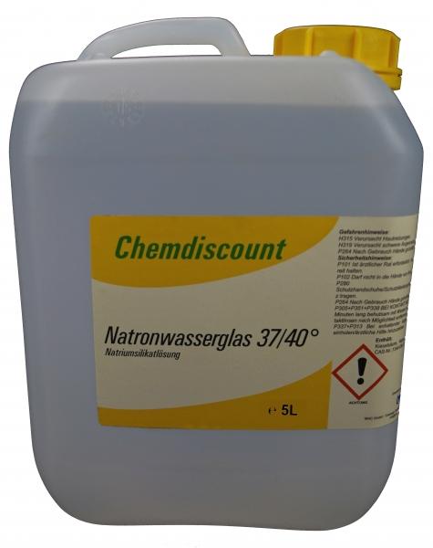 5Liter (ca. 6,75kg) Natronwasserglas