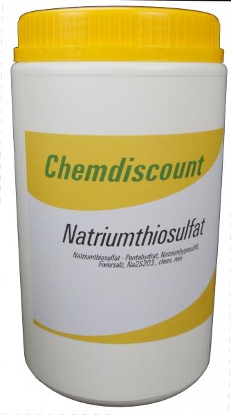 1kg Natriumthiosulfat, chemisch rein
