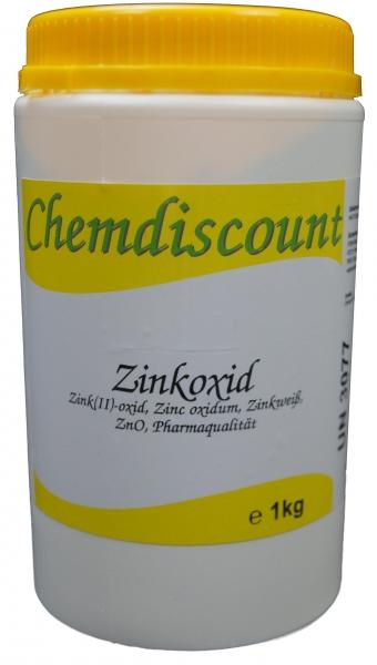 1kg Zinkoxid ZnO (-Heptahydrat), Pharmaqualität
