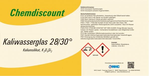 1250kg (ca. 1000Liter) Kaliwasserglas im Einweg-IBC, versandkostenfrei
