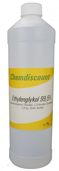 1Liter Glykol >99,5%, Monoethylenglykol, Ethylenglykol