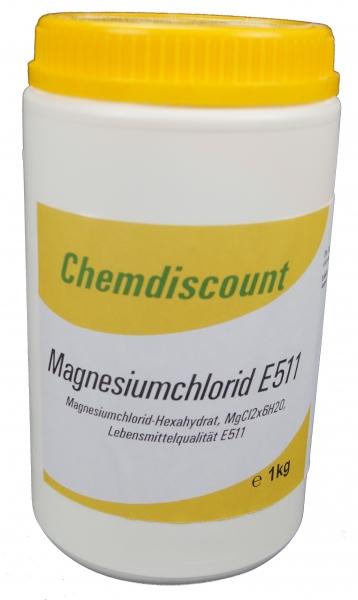 1kg Magnesiumchlorid Lebensmittelqualität E511