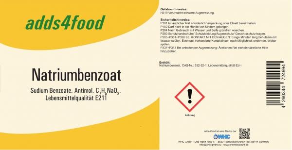 25kg Natriumbenzoat E211