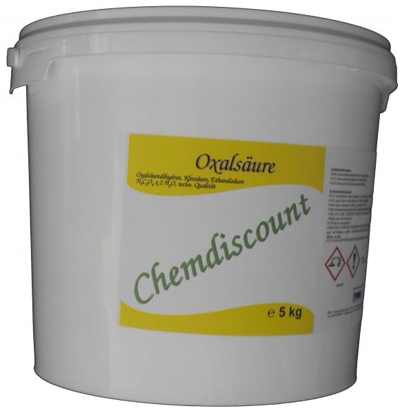 5 kg Oxalsäure-Pulver (Kleesäure, Ethandisäure), min 99,6%