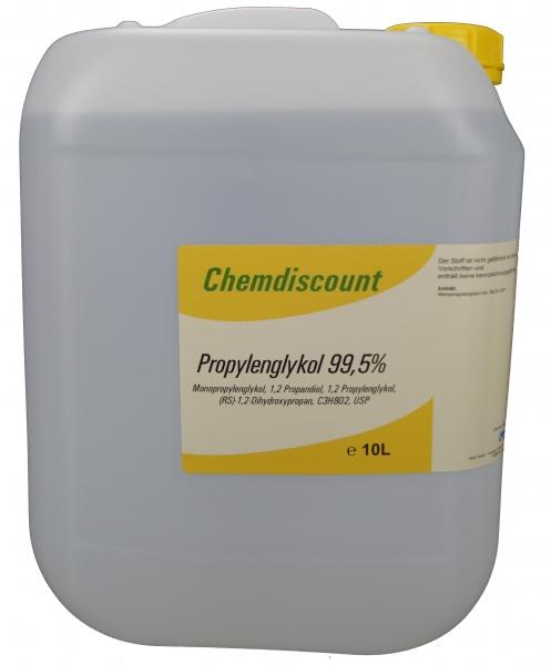 10Liter Propylenglykol 99,5% in Pharmaqualität USP