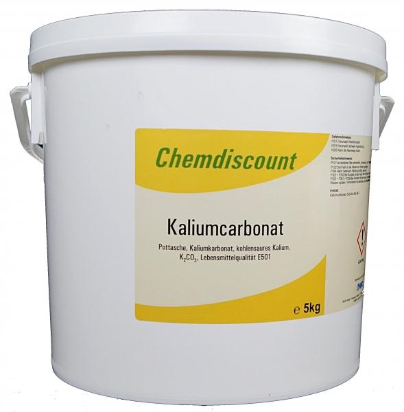 5kg Kaliumcarbonat, Pottasche, Lebensmittelqualität E501