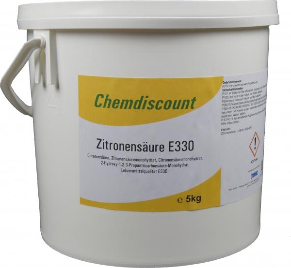 5kg Zitronensäure in Lebensmittelqualität E330