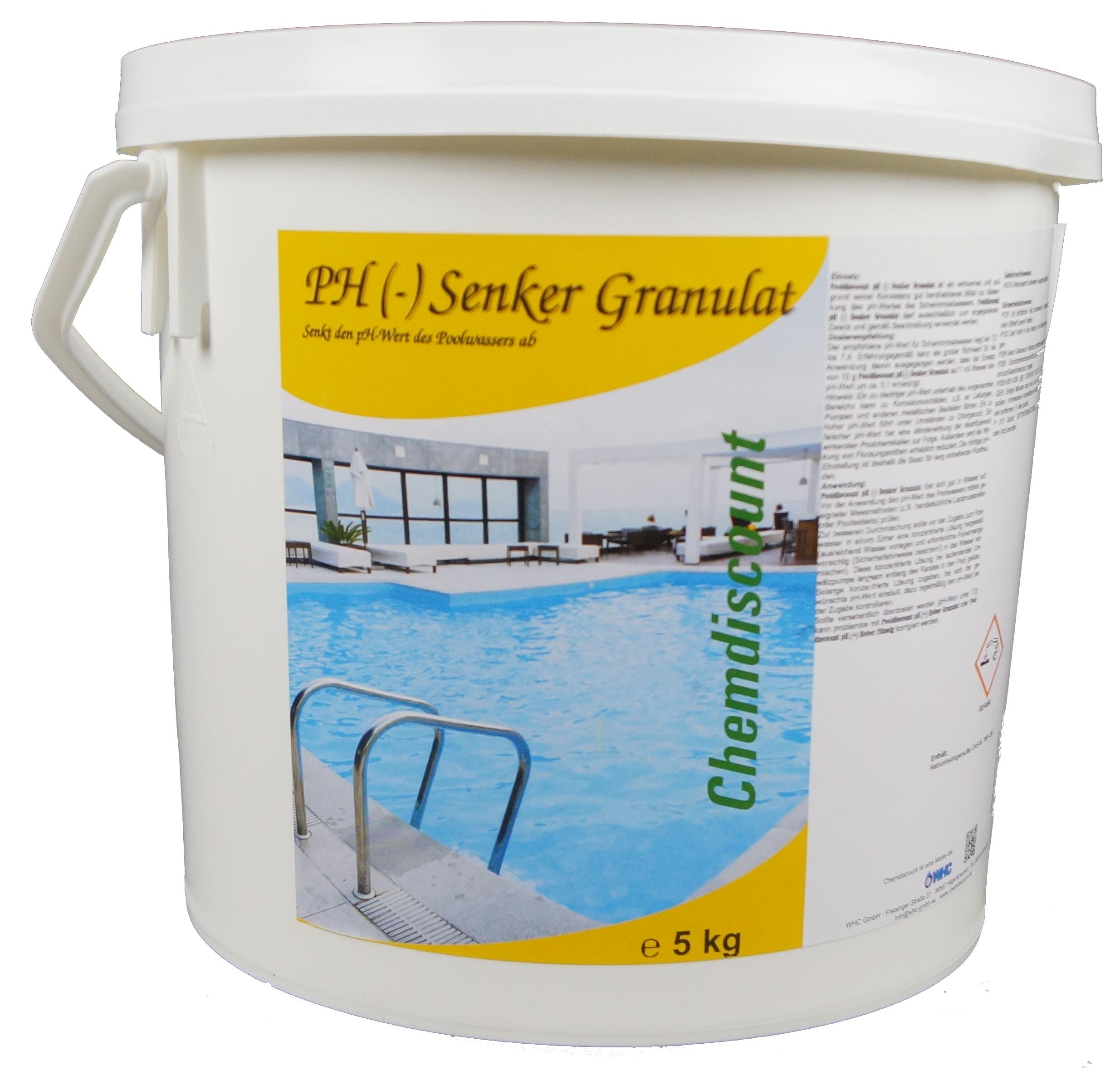 5kg ph senker granulat ph minus ph senker ph minus chemikalien von a bis z. Black Bedroom Furniture Sets. Home Design Ideas