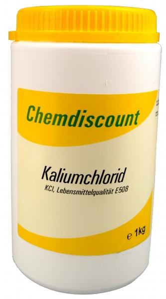 1kg Kaliumchlorid in Lebensmittelqualität E508