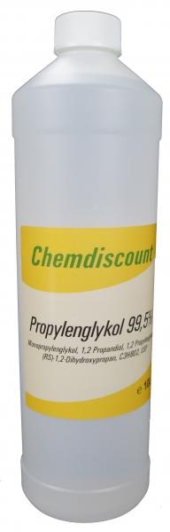 1Liter Propylenglykol 99,5% (1,2-Propandiol) in Pharmaqualität USP