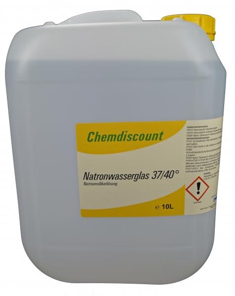 10Liter (ca. 13,5kg) Natronwasserglas