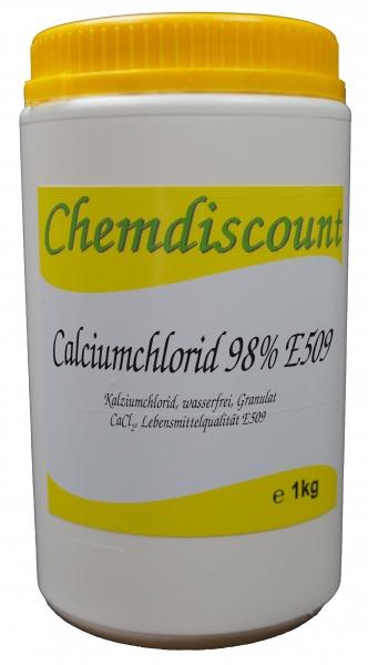 1kg Calciumchlorid 95%-98%, Lebensmittelqualität E509