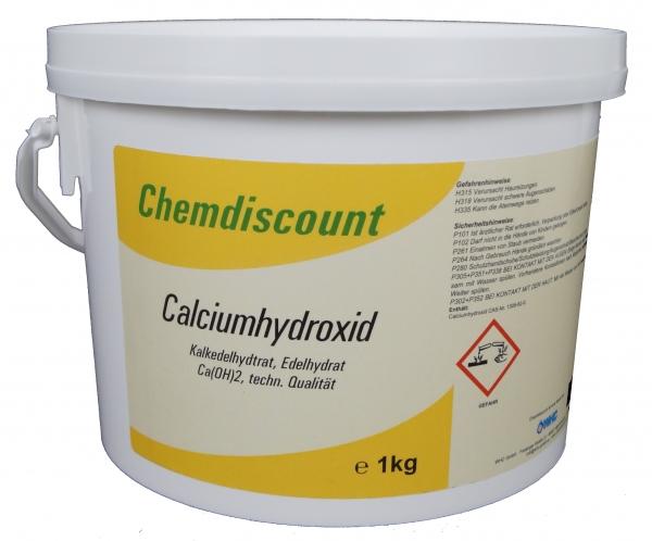 1kg Calciumhydroxid Ca(OH)2, techn.