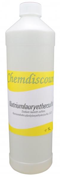 1Liter Natriumlaurylethersulfat (28%, flüssig), Sodium Laureth Sulfate, SLES