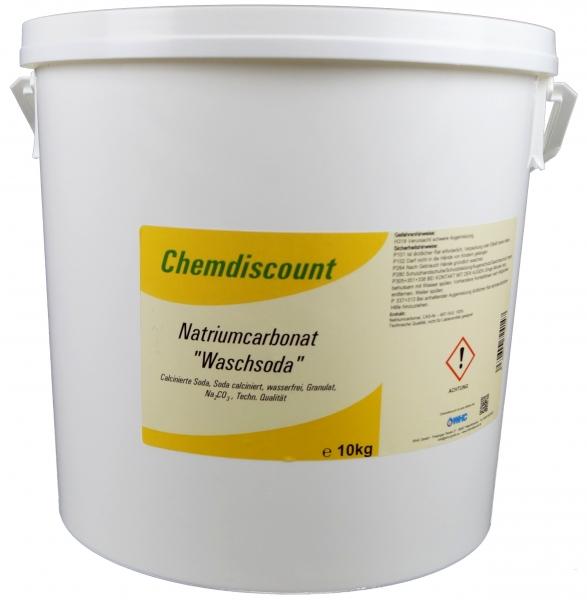 10kg Waschsoda Natriumcarbonat (Na2CO3) Granulat Soda schwer