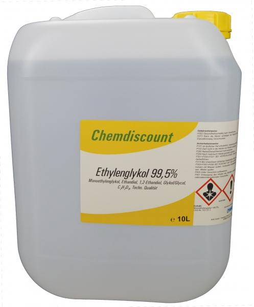 10Liter Glykol >99,5%, Monoethylenglykol, ohne Zusatzstoffe