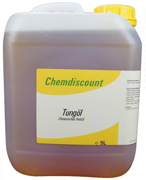 5Liter Tungöl (echtes chinesisches Holzöl)