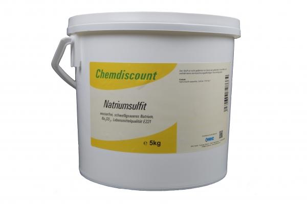 5kg Natriumsulfit, wasserfrei, Lebensmittelqualität E221