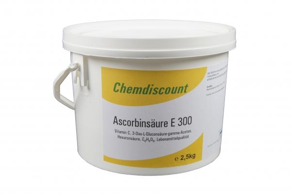 2,5kg Ascorbinsäure(Vitamin C) in Lebensmittelqualität E300