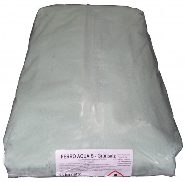25kg Eisensulfat (Eisenvitriol, Grünsalz, Eisen2sulfat-Heptahydrat), techn.