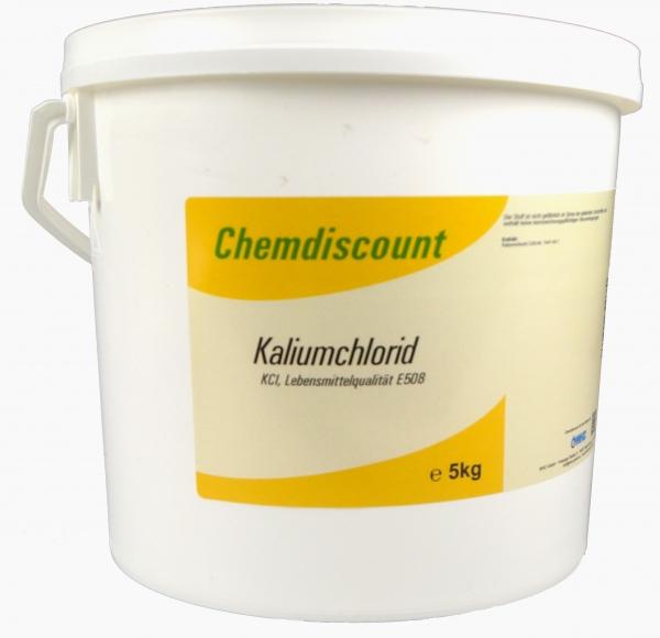 5kg Kaliumchlorid in Lebensmittelqualität E508