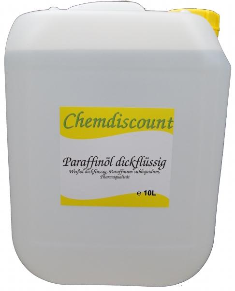 10Liter (2x5liter) Paraffinöl dickflüssig, Paraffinum subliquidum, entspricht PH. EUR