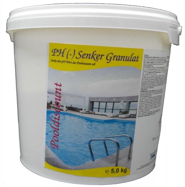 10kg (2 Eimer á 5kg) PH (-) Senker Granulat