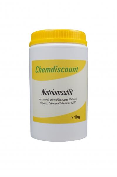 1kg Natriumsulfit, wasserfrei, Lebensmittelqualität E221