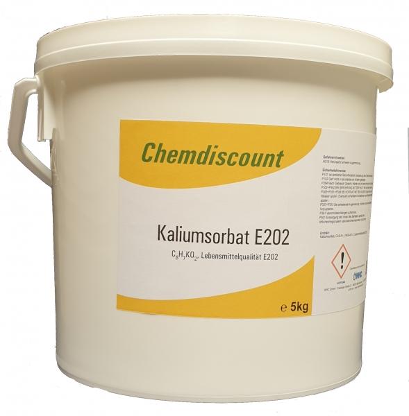 5kg Kaliumsorbat in Lebensmittelqualität E202