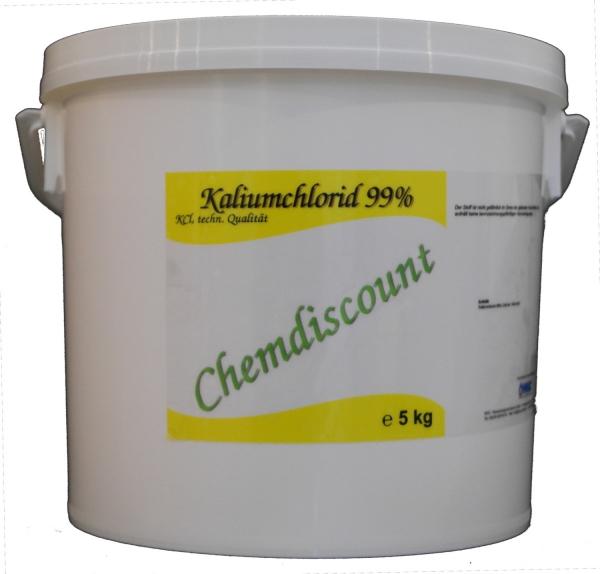 5 kg Kaliumchlorid 99% techn. Qualität