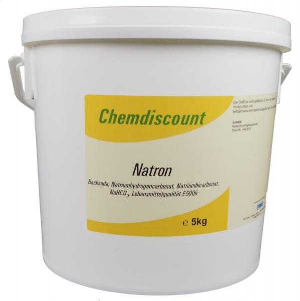 5kg Natron (Natriumhydrogencarbonat, Natriumbicarbonat) E500ii
