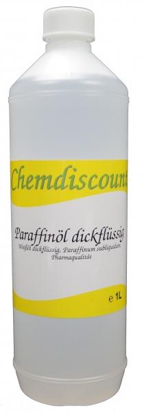 1Liter Paraffinöl dickflüssig, Paraffinum subliquidum, entspricht PH. EUR