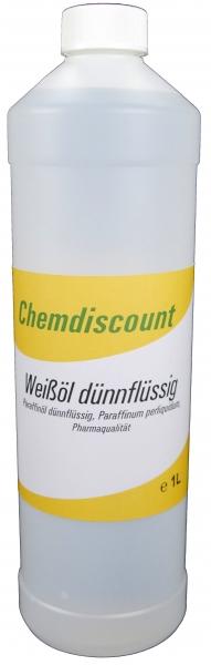1Liter Weißöl dünnflüssig, Paraffinum perliquidum, entspricht PH. EUR