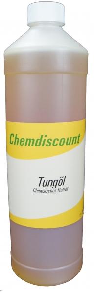 1Liter Tungöl (echtes chinesisches Holzöl)