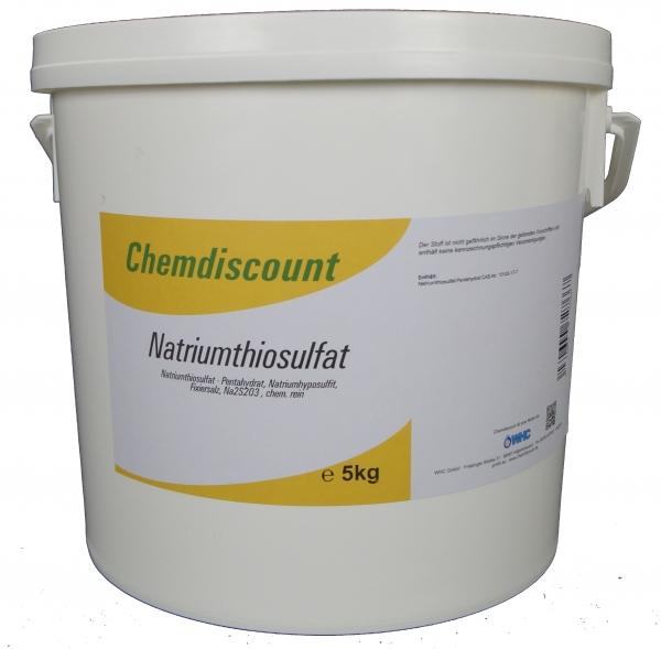 5kg Natriumthiosulfat, Fixiersalz, chemisch rein
