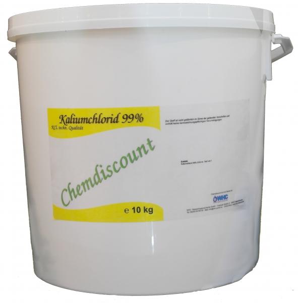 10kg (2x5kg) Kaliumchlorid 99% techn. Qualität