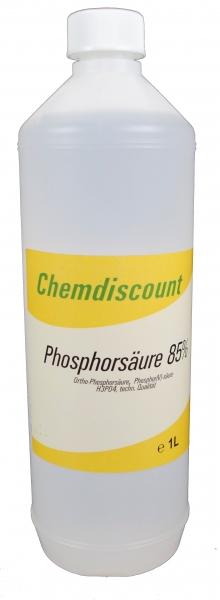 1Liter Phosphorsäure 85%