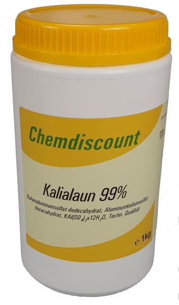 1kg Kaliumaluminiumsulfat (Kalialaun)
