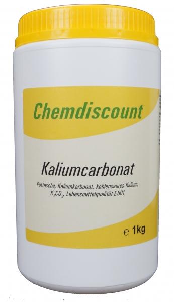 1kg Kaliumcarbonat, Pottasche, Lebensmittelqualität E501