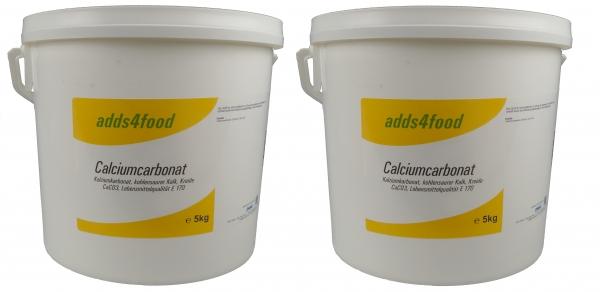 10kg (2x5kg) Calciumcarbonat in Lebensmittelqualität E170