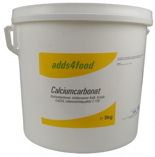 5kg Calciumcarbonat in Lebensmittelqualität E170