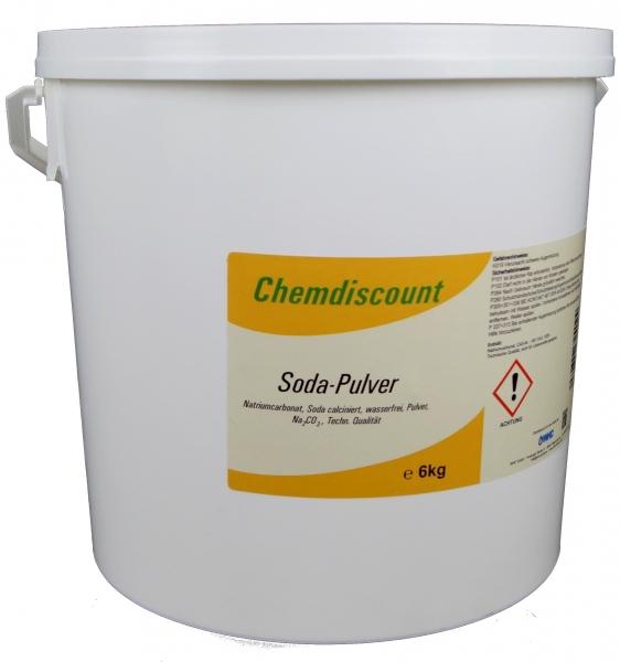 6kg Natriumcarbonat (Waschsolda, Soda leicht) Pulver