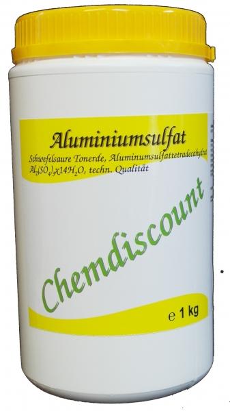 1kg Aluminiumsulfat 17/18%