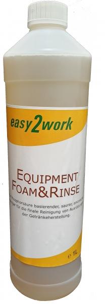 1L Equipment Foam&Rinse (ähnlich StarSan und StellarSan)