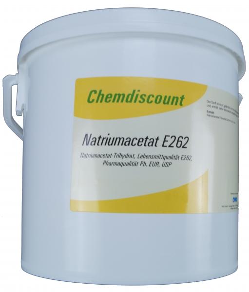 5kg Natriumacetat Pharmaqualität Lebensmittelqualität E262