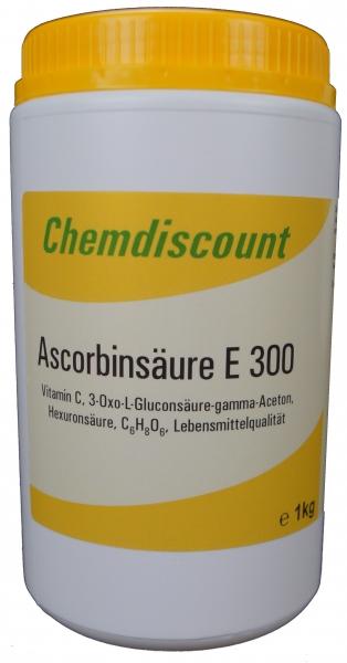 1kg Ascorbinsäure (Vitamin C) in Lebensmittelqualität
