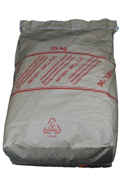 25kg Ammoniumthiosulfat 96-100%, kristallin